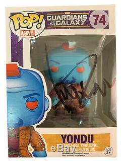 Funko Pop Gardiens De La Galaxie Marvel Yondu Signées Par Michael Rooker