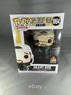Funko Pop Jay & Silent Bob Silent Bob 1004 L. A. Comic Con Kevin Smith Signé Nouveau