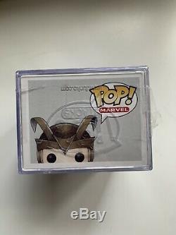 Funko Pop Loki De Thor The Mighty Avenger # 02 Signé Par Tom Hiddleston Voutée