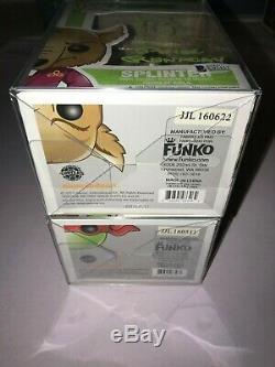 Funko Pop Raphael & Splinter Autographed Rob Paulsen & Peter Certified Renaday