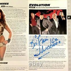 Funko Pop Ric Flair Robe Rouge #63 Autographié Vinyle Signé Avec Protecteur Wwe Nouveau
