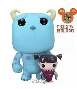 Funko Pop Sdcc 2012 Sulley & Metalic Boo Monsters Inc Croquis Signé 480 Disney