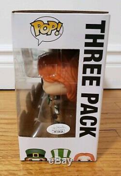 Funko Pop! Weasley 3 Pack Eccc Exclusif Signé Autographié Harry Potter Figure