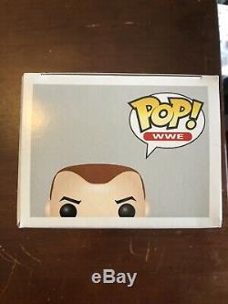 Funko Pop! Wwe CM Punk # 02 Autograph / CM Punk Signé Par Avec Stack Dur