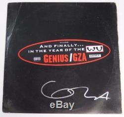 Genius Gza Wu Tang Clan Signé Autograph Liquid Swords Album Vinyl Record Lp