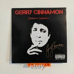Gerry Cinnamon Erratic Cinematic (ex/vg) Signed Uk Vinyl Original First