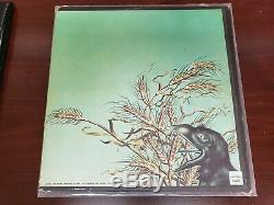 Grateful Dead Band Autographié Wake The Flood Lp Vinyle Avec Coa
