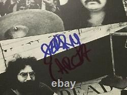 Grateful Dead Signé En Direct Vinyl Lp Wd 1830 Pressage Allemand Autographié Garcia