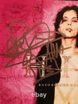 H. I.m. Him Ville Vallo Band Signed CD Autograph Lp Vinyl Razorblade Romance Rare