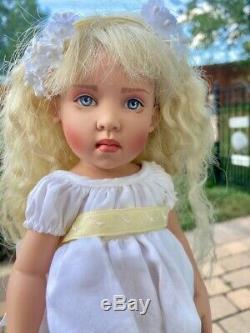 Helen Kish 1997 Margarete 11.5 Doll Signé Coa Et Org Box