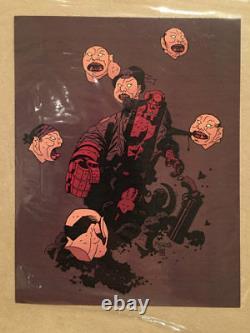 Hellboy Designer Vinyl Rare Eric So 999 Pcs Signé Certificat Mike Mignola