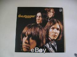 Iggy Pop The Stooges Autographié Signé Vinyle Lp Coa