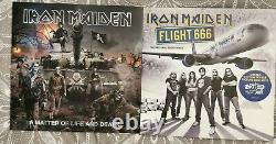 Iron Maiden La Collection Complète En Vinyle Lp Boxset Box Signed
