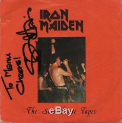 Iron Maiden Tapes Soundhouse Orig. Rok 1 Signe 7 Disque Vinyle Simple