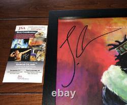 J Cole Signed Kod Vinyl Album Lp Framed Autograph (kendrick Lamar Drake) Jsa Coa