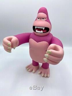 James Jarvis Roi Ken Rose 12 Signé Par L'artiste Stussy Vinyle Toy Figure Amos
