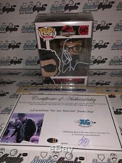 Jeff Goldblum Signé Autographié Funko Pop Vinyle Jurassic Park Ian Malcolm-coa