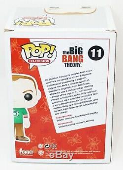 Jim Parsons Sheldon Cooper Signé Autographié # 11 Big Bang Theory Funko Pop Psa