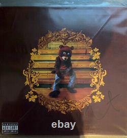 Kanye West Le Collège Dropout Hand Signé 12 Vinyl