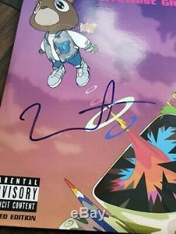 Kanye West Signe Autographed Diplômes Album Vinyl Lp Avec Coa Psa / Adn Proof