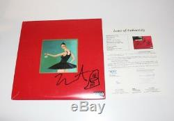 Kanye West Signé My Beautiful Dark Twisted Fantasy Album Vinyle Jsa Mbdtf Sketch