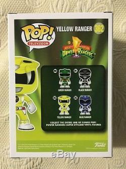 Karan Ashley Signé Autographié Yellow Funko Pop Power Rangers Beckett Bas Coa 3