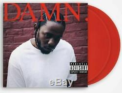Kendrick Lamar Bon Sang. Limitée Rouge Vinyle Coloré Signé Autographié Hip Hop