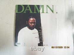 Kendrick Lamar Damn. 2xlp Utilisé! 2017 Tde Limited Red Vinyl Signé Par K. Dot