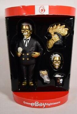 Kidrobot Gold General Tso Nightmare Vinyl Figure Signé Frank Kozik