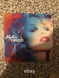 Kylie Minogue Disco Signé Vinyl, CD Et Photo