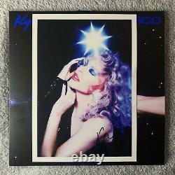 Kylie Minogue Disco Signed Blue Vinyl + Signed Photo Read Description