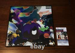 LIL Uzi Vert Signed Vs The World Vinyl Album Taille Photo Rapper Autograph Jsa Coa