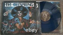 L'offspring Let The Bad Times Roll Vinyl Lp. Marbre Bleu/noir Signé
