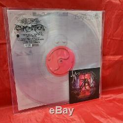 Lady Gaga Chromatica Exclusive Edition Limitée Effacer Vinyle Lp W Signé Imprimer