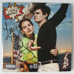 Lana Del Rey A Dédicacé Norman F Signé-cking Rockwell Album, Vinyle, Preuve Exacte