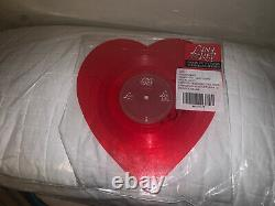 Lana Del Rey Lust For Life Heart Picture Disk Vinyl Rare Signé