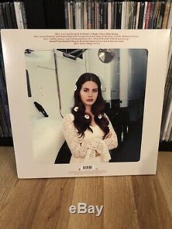Lana Del Rey Signé Autographié Lust For Life Vinyle Manches