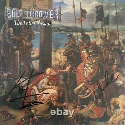 Lanceur De Boulons La Ive Croisade Lp, Vinyle Noir, Signé, Autogramme, Neu