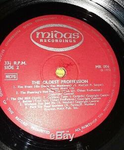 Le Plus Ancien Proffession Midas Mr006 Folk Rare Signé Vinyl Record Lp 1972 Royaume-uni