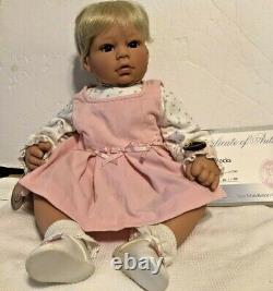 Lee Middleton Original 20 Baby Blocks Signé Reva Doll