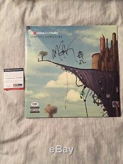 Machine Gun Kelly Mgk Signé Autographié Vinyle Rare Psa / Adn Coa