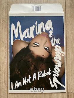 Marina & The Diamonds I Am Not A Robot Rare Limited Signé 7 Vinyle