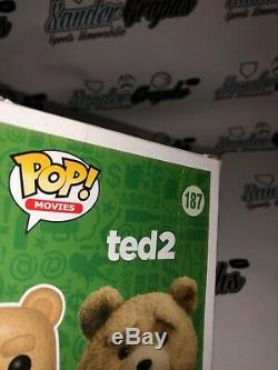 Mark Wahlberg Ted 2 Signé Autographié Funko Pop Vinyl Figure-exacte Preuve Coa
