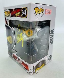 Marvel Ant-man Et Wasp Funko Pop Autographié Par Evangeline Lilly