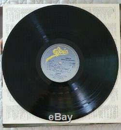 Michael Jackson Thriller Vintage 1982 Vinyle Signée À La Main + Coa Authentique