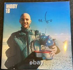 Moby 18 -double Vinyl Lp Signé / Autographié Scellé Rare