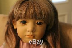 Neblina Doll Par Annette Himstedt-signée En Or, Avec Look Extra
