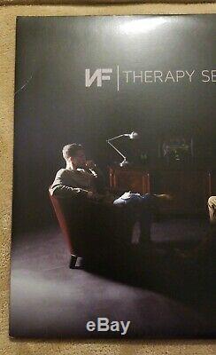 Nf Autosigné Therapy Session 2x Vinyle Lp Nathan Feuerstein Nate Permettront De Bas