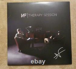 Nf Signated Auto Therapy Session 2x Vinyl Lp Nathan Feuerstein Nate Let You Down
