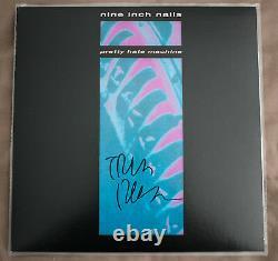 Nine Inch Nails Pretty Hate Machine Vinyl Record Signé Trent Reznor Autographe
